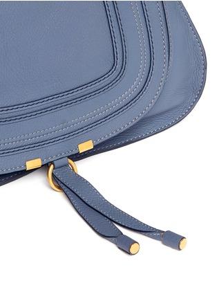Detail View - Click To Enlarge - Chloé - 'Marcie' medium leather shoulder bag