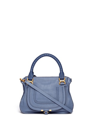 Main View - Click To Enlarge - Chloé - 'Marcie' medium leather shoulder bag
