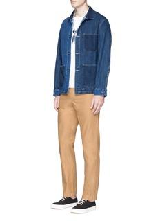 Bleu De PanamePatchwork denim jacket