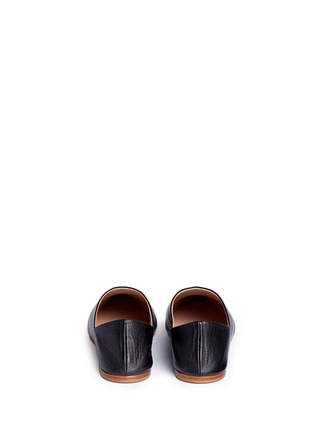 Back View - Click To Enlarge - Acne Studios - 'Amina' leather babouche slides