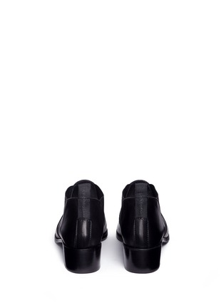 Back View - Click To Enlarge - Acne Studios - 'Jenny' leather Chelsea ankle boots