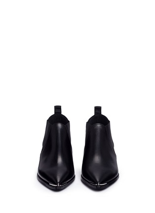 Front View - Click To Enlarge - Acne Studios - 'Jenny' leather Chelsea ankle boots