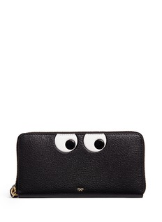 Anya Hindmarch 'Eyes' leather continental wallet