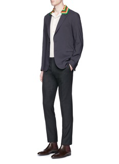 Paul Smith Cotton blend soft blazer