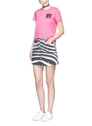 Figure View - Click To Enlarge - Marc Jacobs - x MTV sequin logo jersey T-shirt