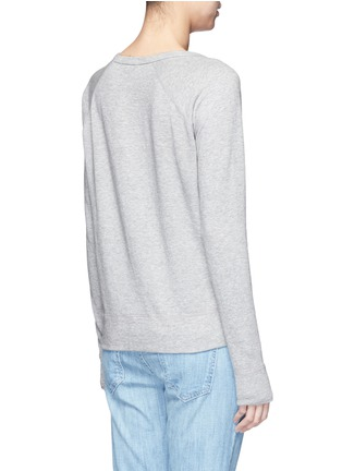 Back View - Click To Enlarge - James Perse - Raglan sleeve Supima® cotton sweatshirt