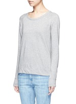Raglan sleeve Supima® cotton sweatshirt