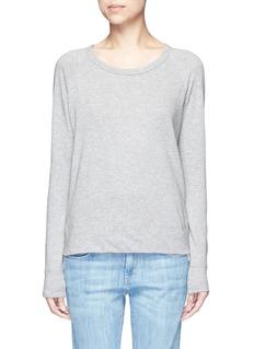 James PerseRaglan sleeve Supima® cotton sweatshirt