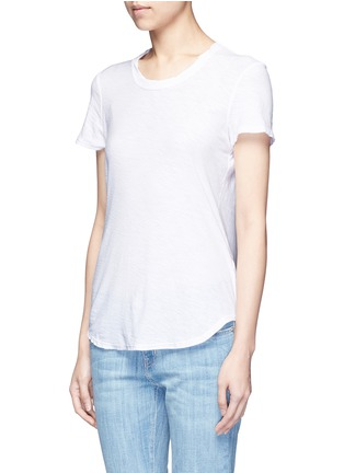 Front View - Click To Enlarge - James Perse - Cotton slub jersey T-shirt