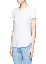 Cotton slub jersey T-shirt
