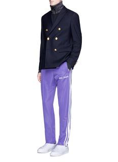 Palm AngelsStripe zip cuff trackpants