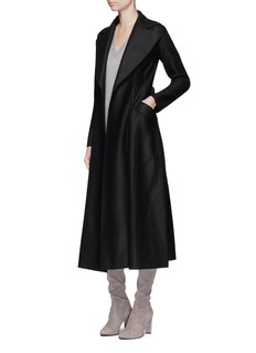 Harris Wharf London Belted wool duster coat