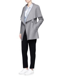 Harris Wharf LondonDouble breasted wool short coat