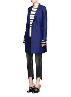 Harris Wharf LondonDouble breasted wool coat