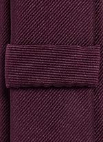'Gold' silk repp tie