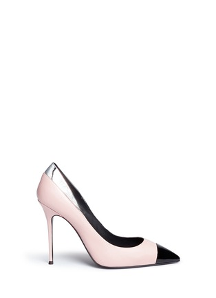 Giuseppe Zanotti Design - 'Lucrezia' leather combo pumps