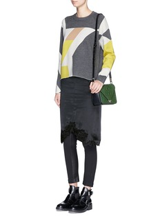 RAG & BONE 'Hilary' abstract colourblock sweater