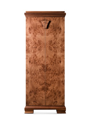 Main View - Click To Enlarge - Agresti - Elm Briar wood armoire with safe