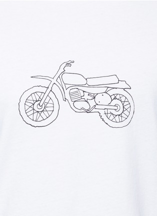 Detail View - Click To Enlarge - rag & bone - 'Moto Bike' print cotton T-shirt