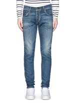 'Fit 2' distressed wash jeans