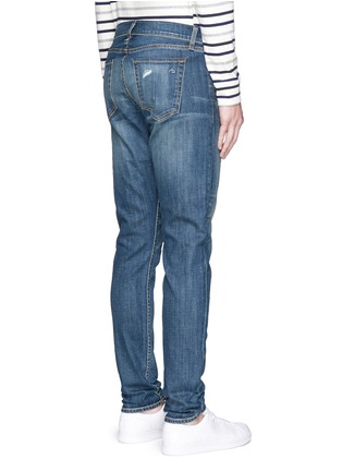 Back View - Click To Enlarge - rag & bone - 'Fit 2' distressed wash jeans