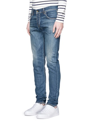 Front View - Click To Enlarge - rag & bone - 'Fit 2' distressed wash jeans
