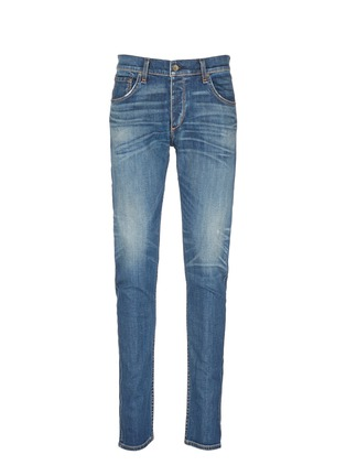 Main View - Click To Enlarge - rag & bone - 'Fit 2' distressed wash jeans