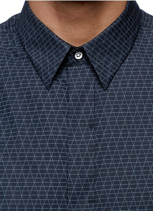 Detail View - Click To Enlarge - rag & bone - 'Casper' geometric print poplin shirt