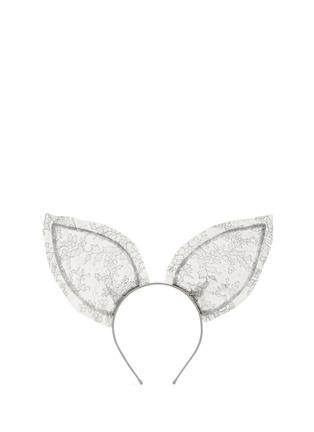 Main View - Click To Enlarge - Maison Michel - 'Heidi' lace rabbit ear headband