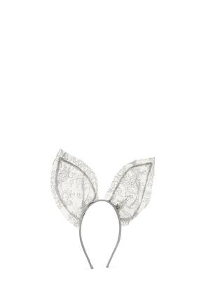 Figure View - Click To Enlarge - Maison Michel - 'Heidi' lace rabbit ear headband