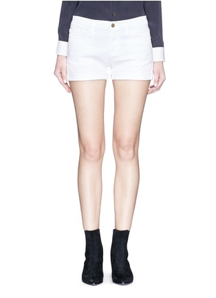 Main View - Click To Enlarge - Frame Denim - 'Le Cutoff' denim shorts