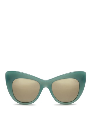 Main View - Click To Enlarge - Stella McCartney - Oversize cat eye acetate sunglasses