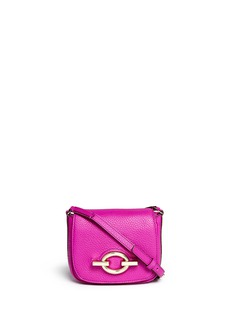 DIANE VON FURSTENBERG'Sutra Café' mini deergrain leather shoulder bag
