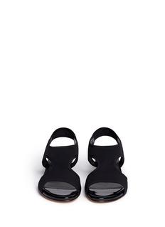 STUART WEITZMAN'Giver' stretch gauze sandals