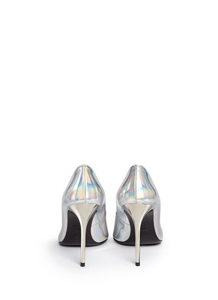 Back View - Click To Enlarge - Stuart Weitzman - 'Nouveau' holographic leather pumps
