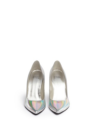 Figure View - Click To Enlarge - Stuart Weitzman - 'Nouveau' holographic leather pumps
