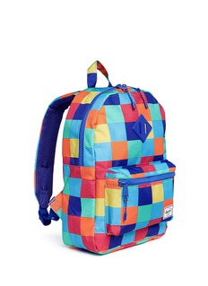 Herschel Kids 'Heritage' check print canvas 16L youth backpack