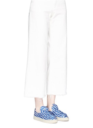 Figure View - Click To Enlarge - Ports 1961 - Twist bow stripe slip-ons