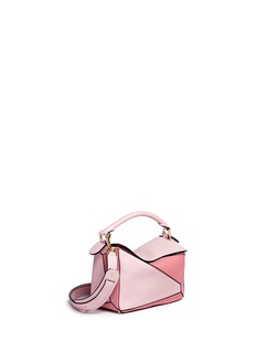 Loewe 'Puzzle' small colourblock leather bag