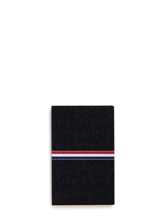 Thom Browne Large pebble leather notebook