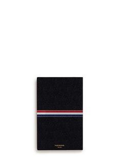 Thom BrowneLarge pebble leather notebook