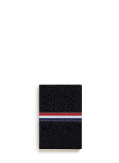 Thom BrowneSmall pebble leather notebook