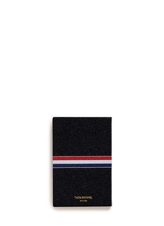 Thom Browne Small pebble leather notebook