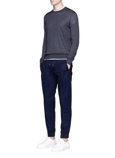 Armani CollezioniDrawstring jogging pants