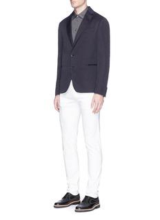 Armani CollezioniLinen blend soft blazer