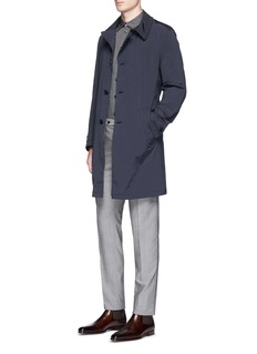 Armani Collezioni Detachable lining belted coat