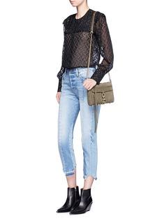 Rebecca Minkoff'M.A.C.' mini nubuck leather crossbody bag