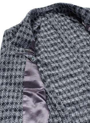 - Tomorrowland - Diamond jacquard Ferla alpaca-wool soft blazer