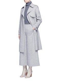 Theory 'Henriet' double faced wool-cashmere culottes