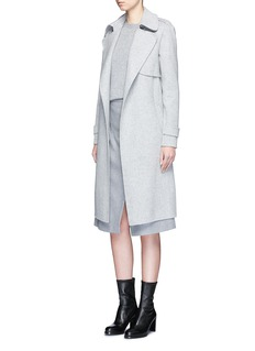 Theory 'Oaklane' belted wool-cashmere coat
